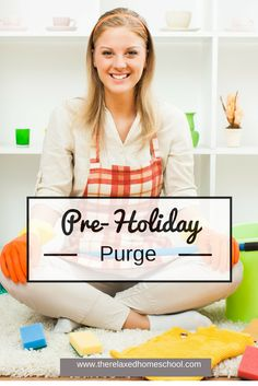 Tweet Have you done your pre-holiday purge yet? (No, this post has nothing to do with eating disorders.) Grab an hour or two this weekend and get yourself and your children ready for the upcoming holiday frenzy! In 1-2 hours, you can avoid the January clutter-hangover that many of you might be familiar with. Plan [...]