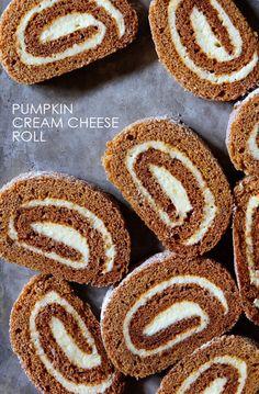 Pumpkin Cream Cheese Roll - BHG Delish Dish - Naomi Robinson #everythingfall