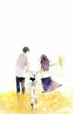 Image about beautiful in Header by Aidantly on We Heart It Couple Manga, Couple Art, Couple Cartoon, Couple Illustration, Illustration Art, Stock Design, Neko, Kimi Ni Todoke, Korean Art