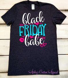 Black Friday Shirts, Black Friday Shopping, Black Friday Team, Holiday Shirts, Christmas Shopping Shirt, Womens Black Friday, Friday Sales by AshleysCustomApparel