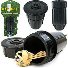@Overstock - Realistic looking hide a keys are made from a real sprinkler head Storage accessory is waterproof and strong Accessorry offers enough room for keys or spare moneyhttp://www.overstock.com/Home-Garden/Secret-Sprinkler-Head-Hide-a-Keys-Set-of-2/3396427/product.html?CID=214117 $20.99