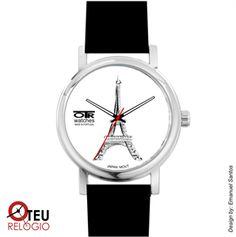 Mostrar detalhes para Relógio de pulso OTR PARIS TORRE EIFFEL LOC 010