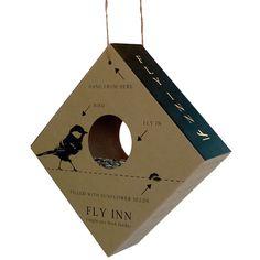 Fly Inn lintulauta auringonkukansiemenill�