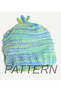Cascade Fixation Baby Hat PATTERN ONLY