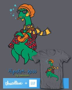 Support this Threadless/Gap entry @Threadless today! Please repin, vote 5$ and comment for some added love!