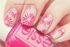 Polished Elegance: June 2014 #prom nail art