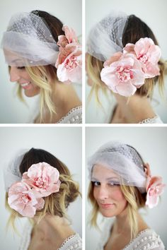 Such a beautiful veil. I think I want to start making and designing veils like these!