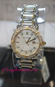 invicta speedway stainless steel case mens watch costco costco has the bulova stainless steel ladies diamond bezel watch on for a limited time it features