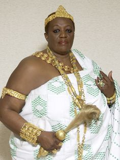 King Peggy, King of Otuam, Ghana.  (YES, people...KING P-E-G-G-Y!)  American woman becomes King: http://www.cnn.com/2013/01/31/world/africa/king-peggy-otuam-ghana