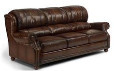 Flexsteel Furniture: Sofas: DickensonLeather Sofa (1762-31)