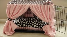 pink dog crates - Google Search