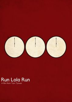 Lola Rennt / Run Lola Run. Amazing Movie. Not really an action movie, but very experimental and you'll forget to breathe!!