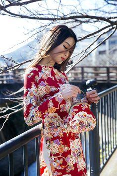 Mỹ Linh, Thanh Tú, Nhật Bản, áo dài, kimono