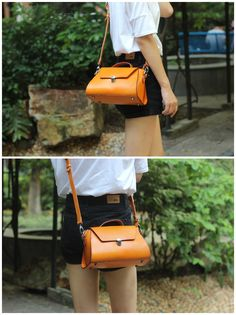 Handmade Genuine Leather Tote Bag Messenger Shoulder Lady Bag We use genuine cow leather, quality hardware and nylon fabric to make the bag as good as it is. •Adjustable shoulder strap. •Open top zipp