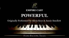 Empire Cast - Powerful feat. Jussie Smollett & Alicia Keys (Piano Accomp...