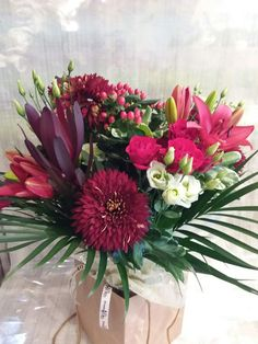 A Combination Of Reds To Celebrate Ruby Wedding Anniversary AnniversaryBouquets
