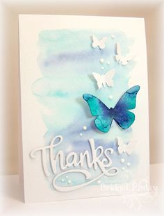 FS389 Butterflies for Karren by bfinlay - Cards and Paper Crafts at Splitcoaststampers