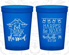 Personalized Cups, Wedding Cup, Wedding Cups, Personalized Plastic Cups, Stadium Cups, Party Cups, Plastic Cups (235)