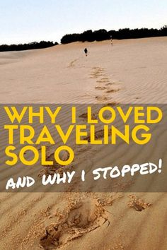 For some people, the idea of travelling solo is repulsive. It has never been to me. Visit my blog to find out why I loved travelling solo and why I stopped!