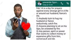 9JABREEZELAND: Wife sends husband funny prayer point ahead of the...