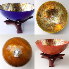 Come celebrate Ten Thousand Village's 70th year of supporting artists from around the world! I'll be at the West Hartford store today from 2-6pm and all my gourd lamps and bowls from my Fire & Gold collection will be $10 off each! I can't wait to be there and to see you!