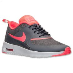 outlet store 50365 e0a6f Womens Nike Air Max Thea Running Shoes   Finish Line   Dark Grey Hyper Punch