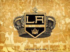 Los Angeles Kings Love this! Vancouver Canucks, Montreal Canadiens, La Kings Stanley Cup, Nhl, La Kings Hockey, Lets Go Pens, Dodgers Fan, I Love La, Sports Team Logos