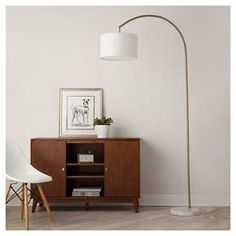 3-Arm Arc Floor Lamp - Threshold™ | Nooks, Floor lamps and Swivel ...