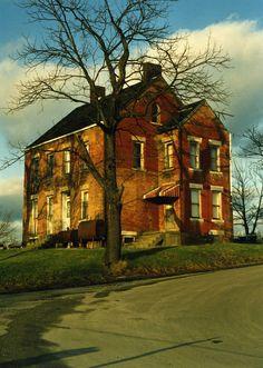 Abandoned House near Cedar Creek Park, Pennsylvania.