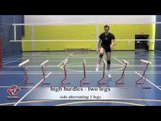 Explosive Speed, Reaction and Jump Training for Volleyball - YouTube