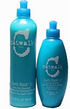 Tigi Catwalk Curls Rock Curly Hair Shampoo and Conditioner Duo 12 Ounce85 Ounce -- Be sure to check out this awesome product.Note:It is affiliate link to Amazon.