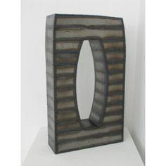 Escultura abstracta 'Puerta (en el cielo)' |  Arte geométrico |  paisajes urbanos |  La escultura del metal soldada |  La mirada del metal en bruto |  Art Deco Escultura |  Decoración