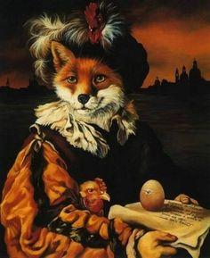 Artist Sylvia Karle Marquet's Animal Society