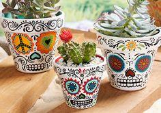 9 diy con calaveras mexicanas. | Manualidades