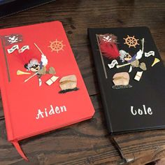 Journal or autograph books for Fish Extender gift.