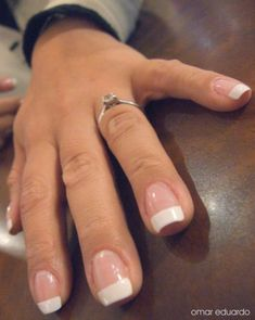 Perfect French Manicure With Gel Or CND Shellac Nail Polish: An At Home How To
