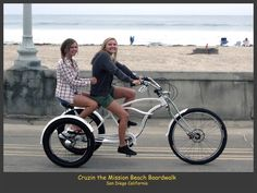 Custom Built Beach Cruizer Trike - Electra Bike Forums