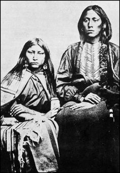 Kiowa Tribe Women    The Kiowa people lived on the plains in southern Montana. In the 1700s they moved to Black Hills in Dakota where they allied with the Crow people. Kiowas was a small tribe and were pushed to the south from the much larger Sioux tribe. They settled in Texas and New Mexico and in 1790 they allied with the Comanches.