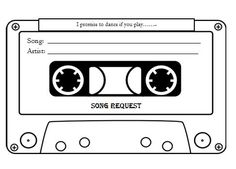 free song request template nautical - Google Search