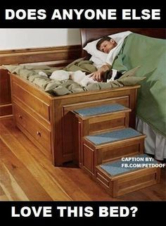 I want this and a larger bedroom to acomodate