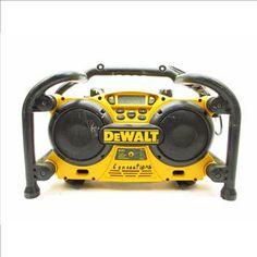 DEWALT Work Site Radio/Charger  http://www.propertyroom.com/listing.aspx?l=9594960
