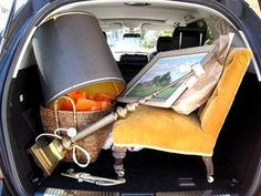 off to the flea market....