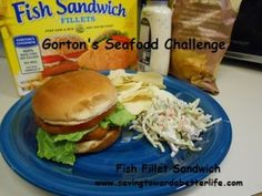 Gorton's offers 20 products at 200 calories or less so you can serve delicious and healthy items to your family! We are a fan of fish sandwiches and Gorton's makes fish fillets the perfect size for fish sandwiches! Gorton's Fish, Blt Recipes, Fish Sandwich, Free Coupons, 200 Calories, Sandwiches, Beef, Chicken, Healthy