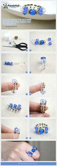 Vous cherchez une pièce d'ornements de bijoux de premier plan, comme des colliers, bracelets ou bagues pour les mères jour? Les anneaux d'arc bricolage...