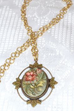 B. Accessorized Cameo Necklace