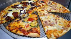 With so many different flavours to chose from, whats your favorite slice? #sliceapizza