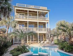 Grayton Beach Vacation Rental - VRBO 90347 - 6 BR Beaches of South Walton House in FL, Spectacular Grayton Beach House! Florida Gulf Coast Beaches, Santa Rosa Beach Florida, Walton House, Beach Vacation Rentals, Florida Vacation, Private Pool, Ideal Home, Cottage, Star
