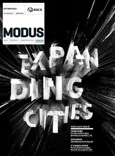 Typography ///// magazinewall: Modus (London, UK)
