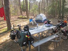 New Jersey: A Springtime Bike Overnight in the Pines — Bike Overnights