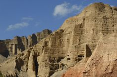 Upper Mustang Trek – Mitten in den Felsen – ein kleines Gesicht!